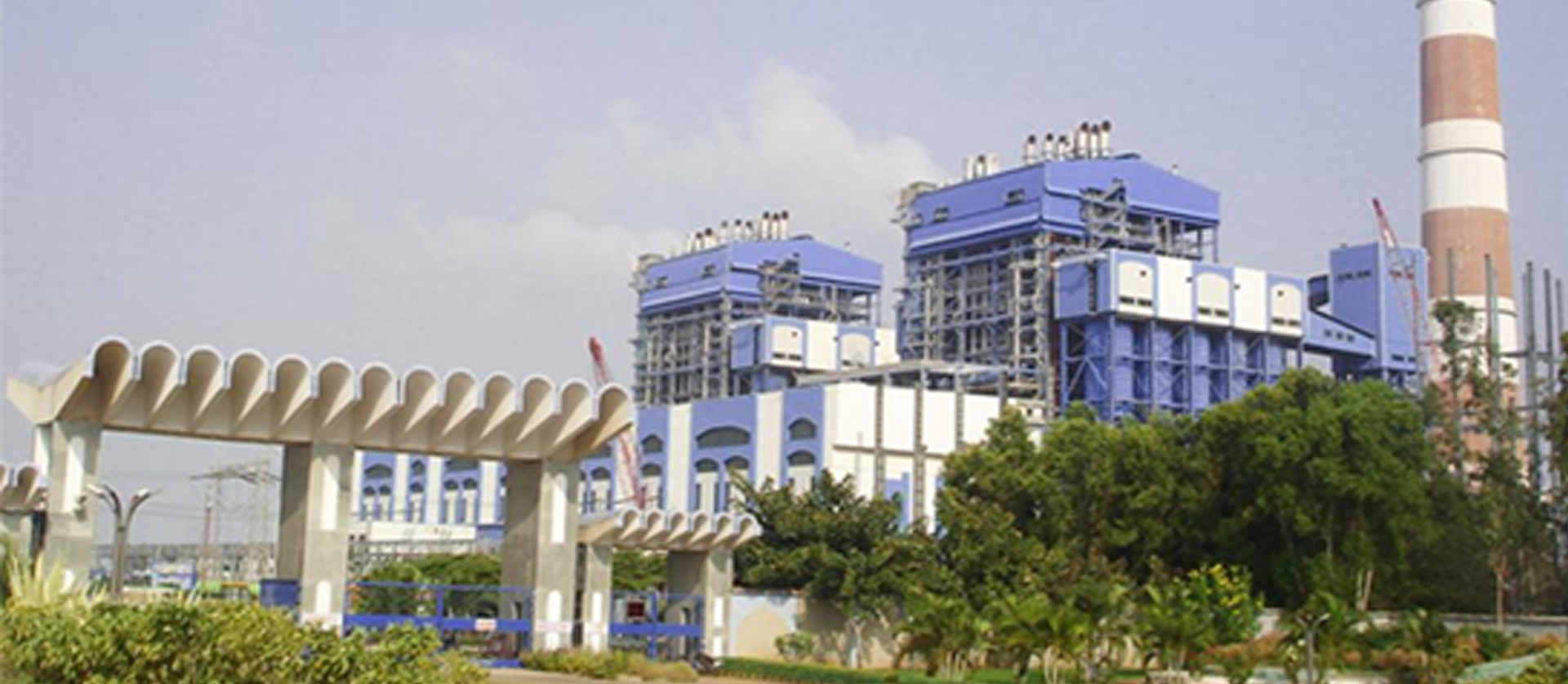 Super Thermal Power Station: Simhadri, Vishakhapatnam, Andhra Pradesh