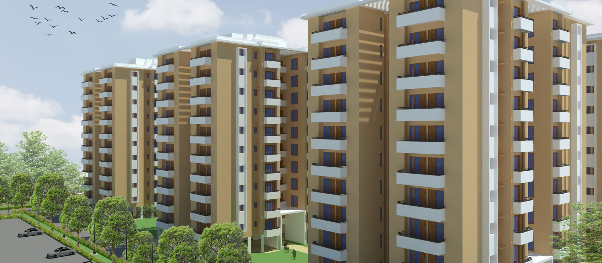 Multi-Storey Housing: Kirandul Township, Chhattisgarh