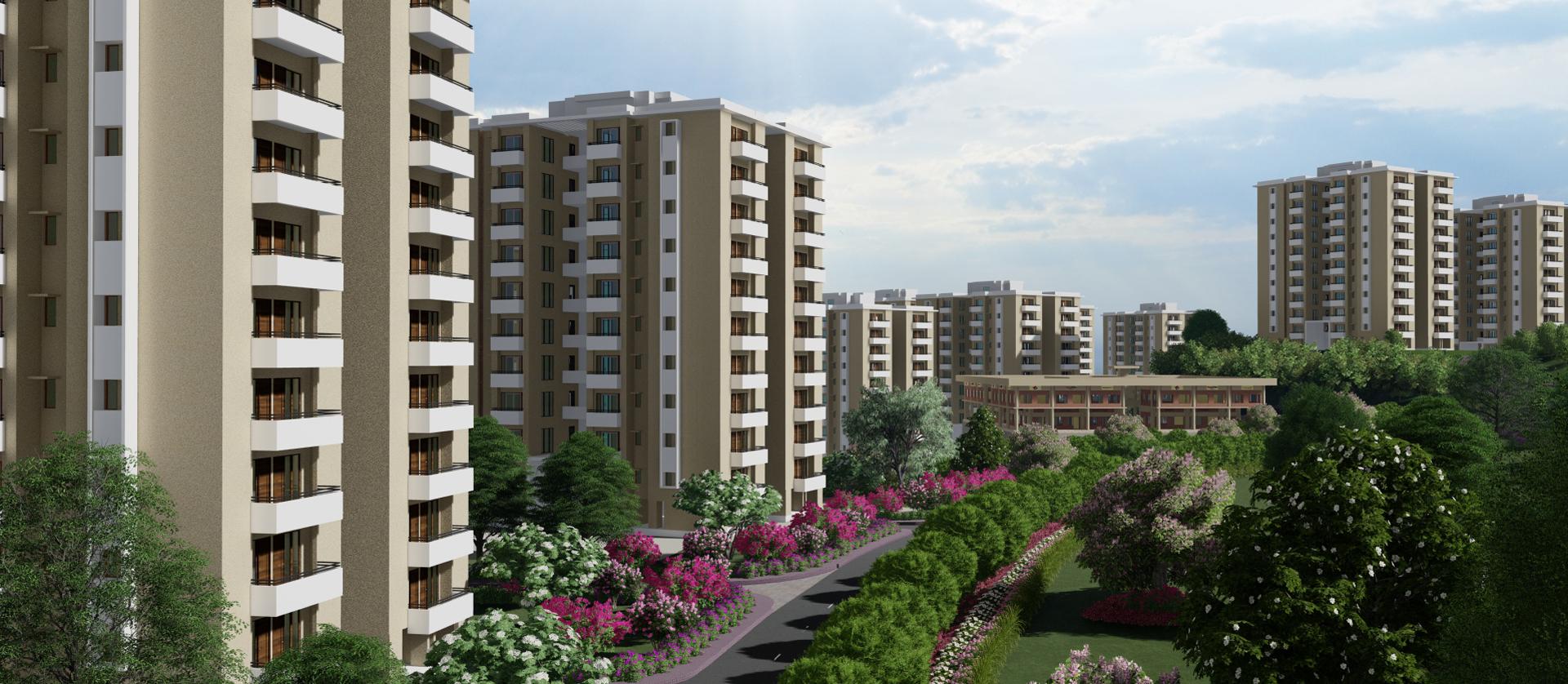 Multi-Storey Housing: Donimalai Township, Karnataka